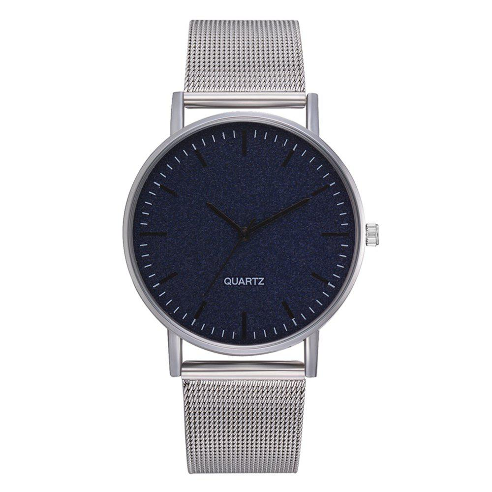 Shop XR2952 Simple Trend Fashion Watch Men and Women Ultra-Thin Mesh Belt Watch
