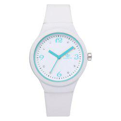 XR2906 Classic Silicone Fashion Watch Jelly Watch Couple Watch -
