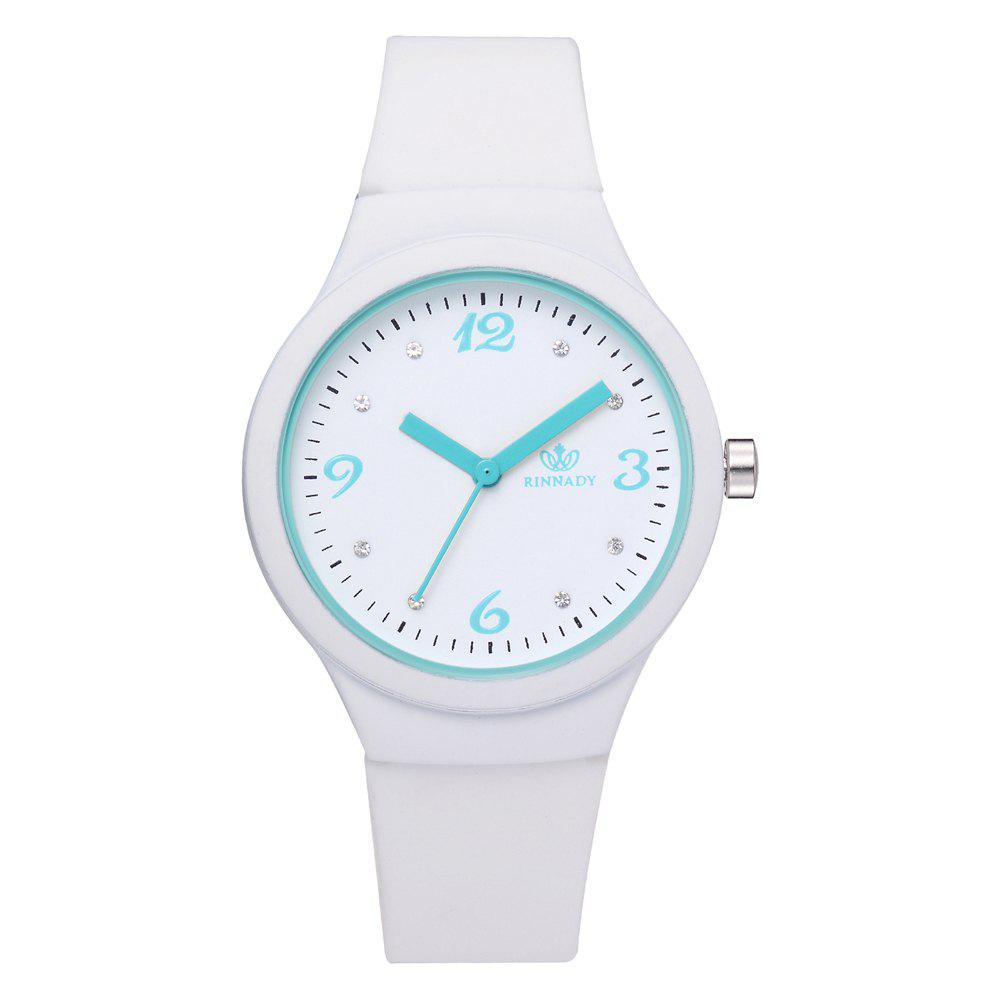 Buy XR2906 Classic Silicone Fashion Watch Jelly Watch Couple Watch