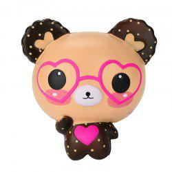 Light-Colored Glasses Bear Slow Rebound Decompression Toy -