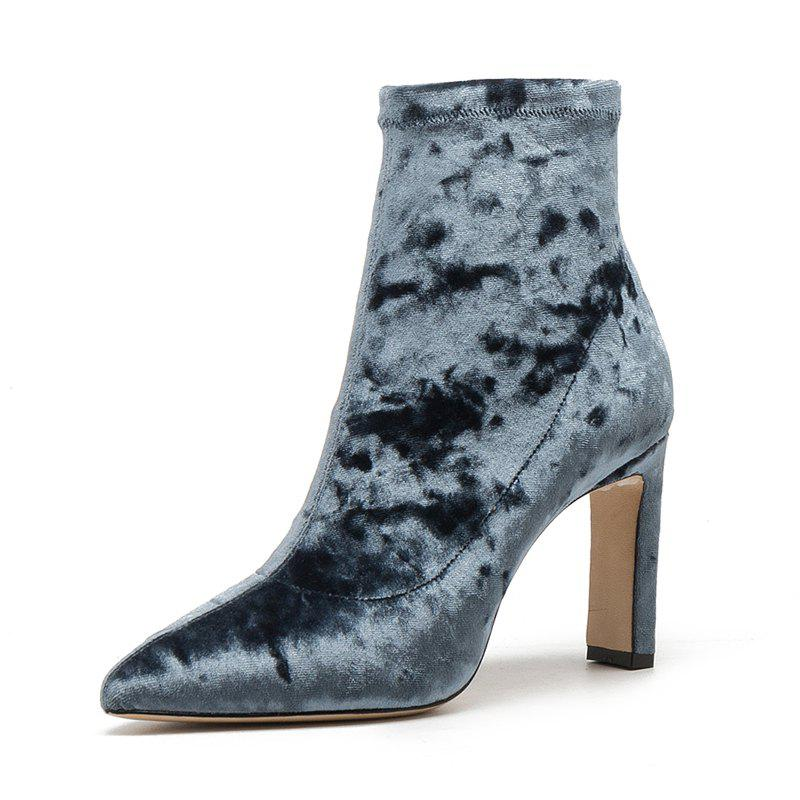 Best The High Heel Fashion Women'S Boots Are 8.5CM High