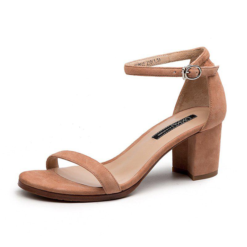 Chic A 5CM Heel Height for Women During Commute