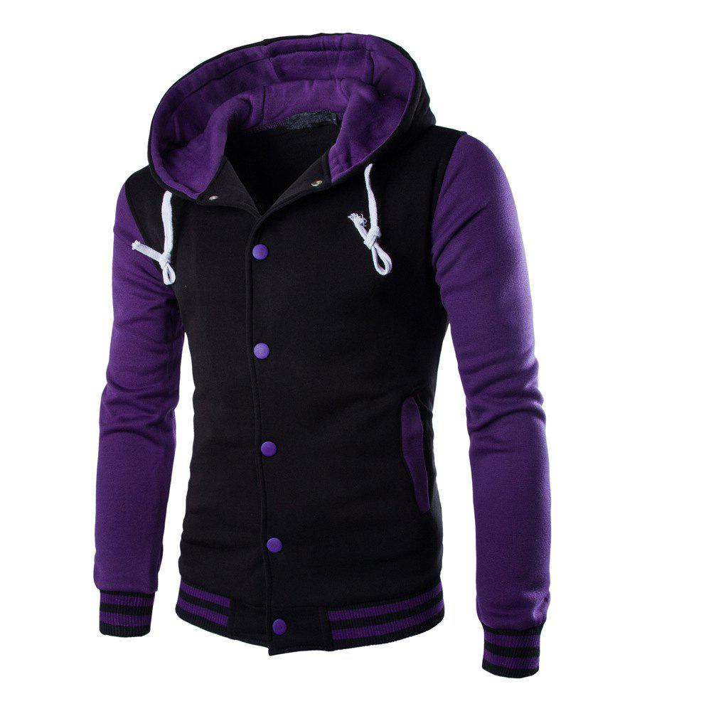 Buy Casual Hooded Button Men's Sweater