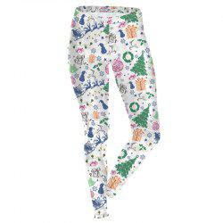 Christmas Costume Decoration Pattern Clothes Sport Leggings for Women -