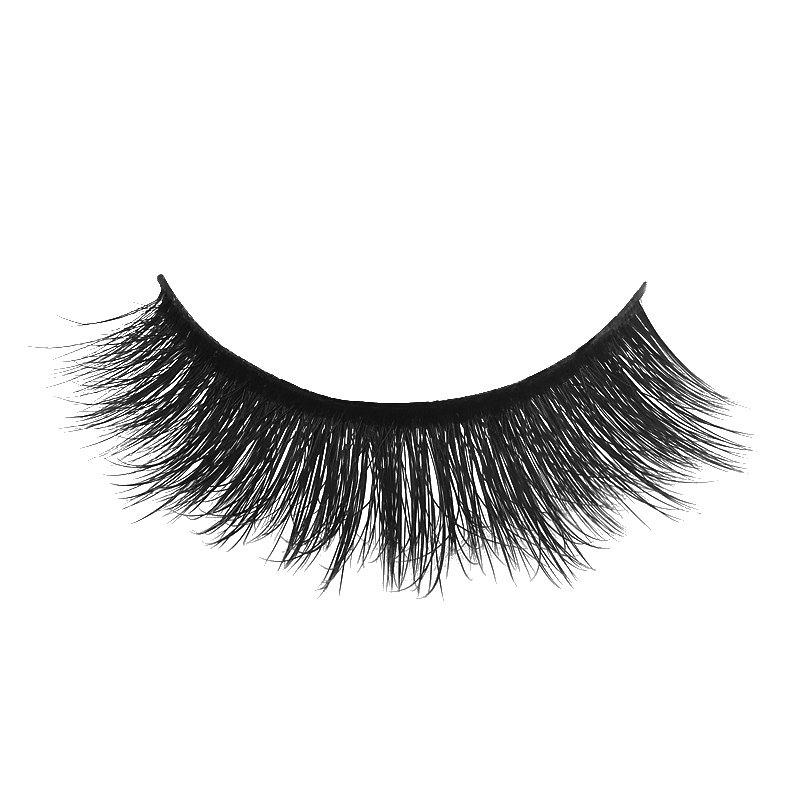 Affordable Super Dense Natural Eyelashes 1 Pair SD40