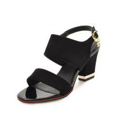 Medium Thick Sweet Sandals -