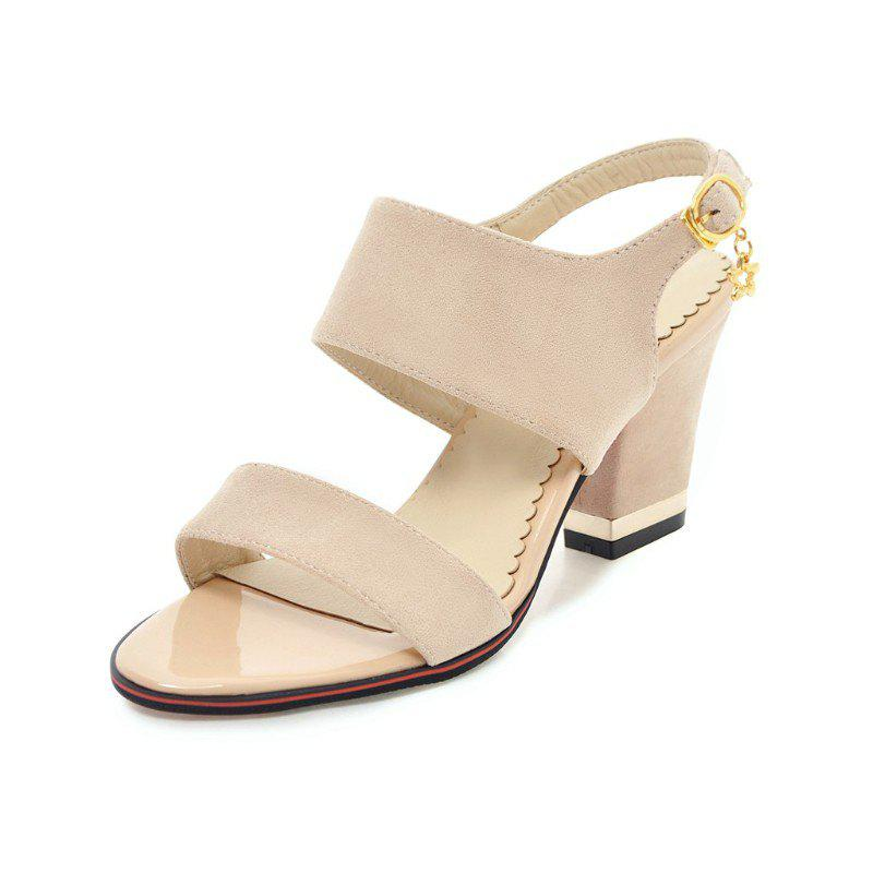 Shops Medium Thick Sweet Sandals