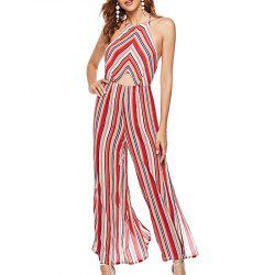 Combinaisons Sexy Backless Spell Color Stripe -