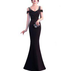 Ladies Evening Party Cocktail Party Slim Fit Dress -