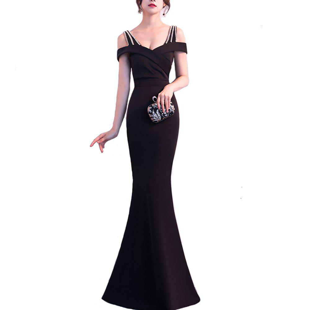 Fancy Ladies Evening Party Cocktail Party Slim Fit Dress