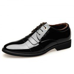 Men'S Business Men'S Leather Shoes and Cotton To Keep Warm -