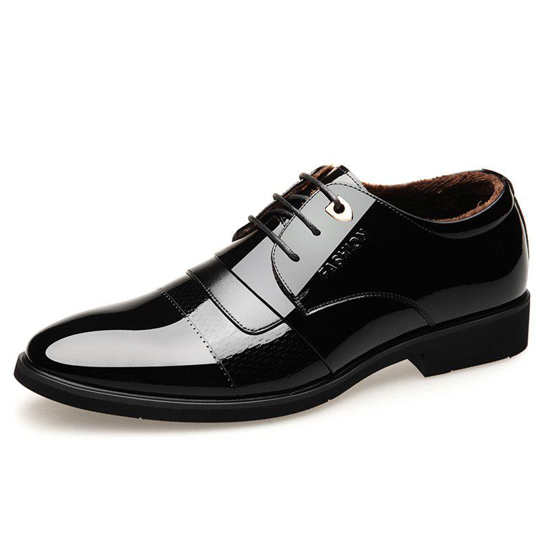 Affordable Men'S Business Men'S Leather Shoes and Cotton To Keep Warm