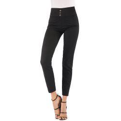 Women'S Fashion Stretch Slim High Waist Leggings Trousers -