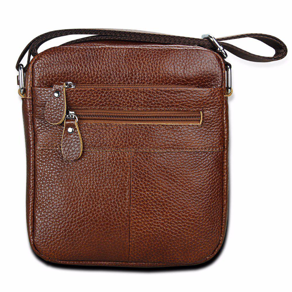 14c321940a Online Men Bag Genuine Leather Crossbody Messenger Bags Men S Shoulder Men Bag  Flap Zip