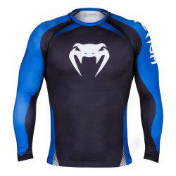 Tights Men's Long-sleeved Comprehensive Combat Training Suit UFC Boxer -