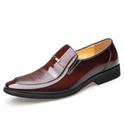 The Spring and Autumn Period and The Men Business Suits Men Shoes Leather Shoes -