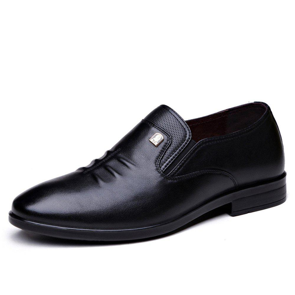 Trendy Autumn Men'S Business Casual Shoes Breathable Middle-Aged Father'S Shoes