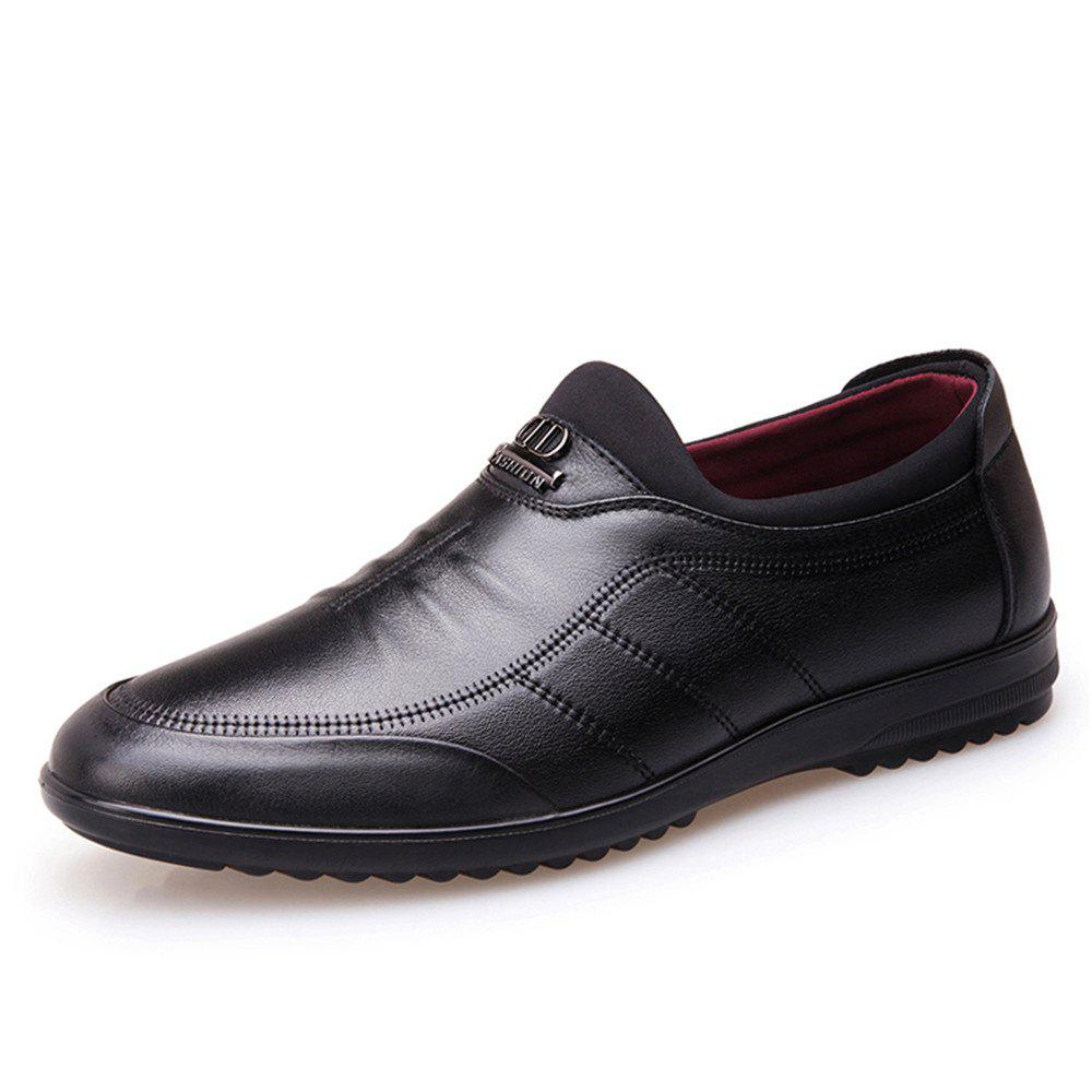 Best Men'S Business Casual Winter Han Edition British Men'S Leather Shoes Men'S Leath
