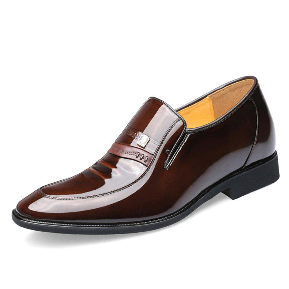 Fashion Men'S Shoes 6 Cm Increased Business Dress Shoes Wedding Shoe Male Contact Within