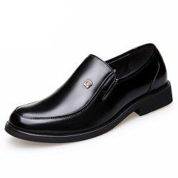 Men'S Business Suits Autumn Shoes Round Head Breathable and Comfortable Big Yard -