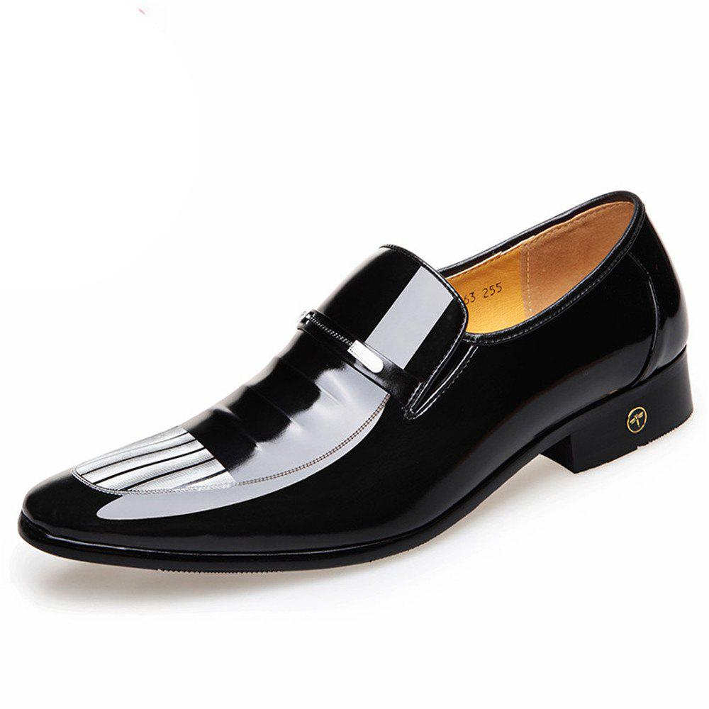 Affordable The New Fashion of England Men Business Suits Leather Patent Leather Shoes