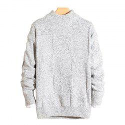 2018 New Men'S Pullover Casual Sweater -