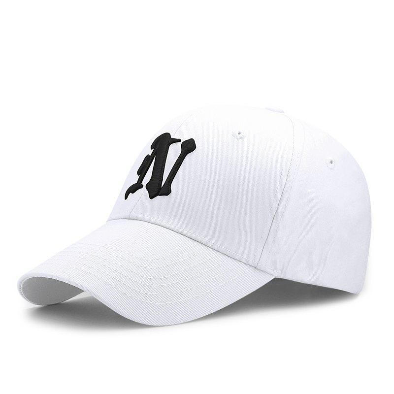 Discount Letter embroidered cap + adjustable for 56-60cm head circumference