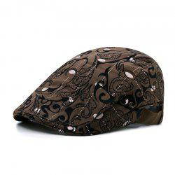 Longteng map beret + elastic adjustment on both sides 56-58CM -