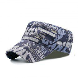 Flower cloth printing flat cap + code can be adjusted 55-59CM -