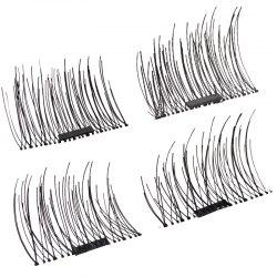 Natural Length 1-1.2CM Single - Magnetic False Eyelashes 1 Pair D20 -