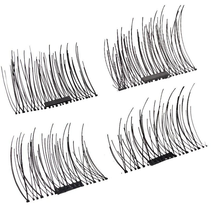 New Natural Length 1-1.2CM Single - Magnetic False Eyelashes 1 Pair D20