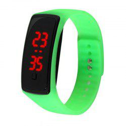 Fashion LED Silicone Sports Watches Touch Screen Digital Bracelet Watch -