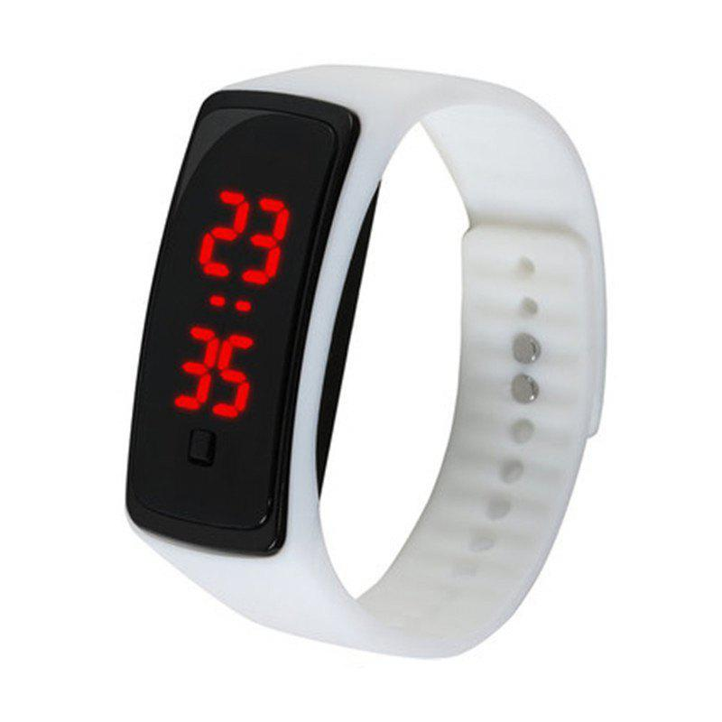 Shops Fashion LED Silicone Sports Watches Touch Screen Digital Bracelet Watch