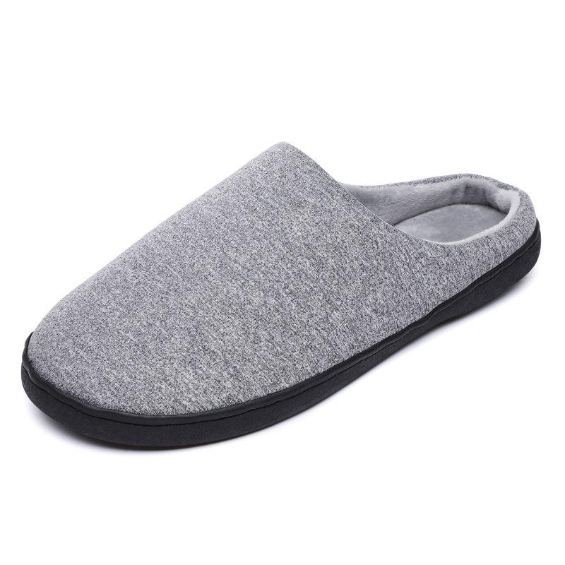 Unique BY-8 Sexual Lazy Slippers Plus Cotton Warm Snow Boots Non-Slip Wear Men and Wome
