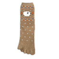 Toe Socks Five Finger Cotton Socks -