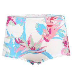 MISSOMO Fashion Sexy High Waist Flowers Bikini Panties -