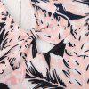 MISSOMO Fashion Sexy Large V-Neck Tropical Beach Plant Print One-Piece Swimsuit -