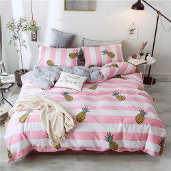 Cotton and Wool Bedding Sets King Size Pineapple -