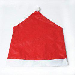 Christmas Chair Covers Red Hat Chair Back Sets for Christmas  Festive Decor -