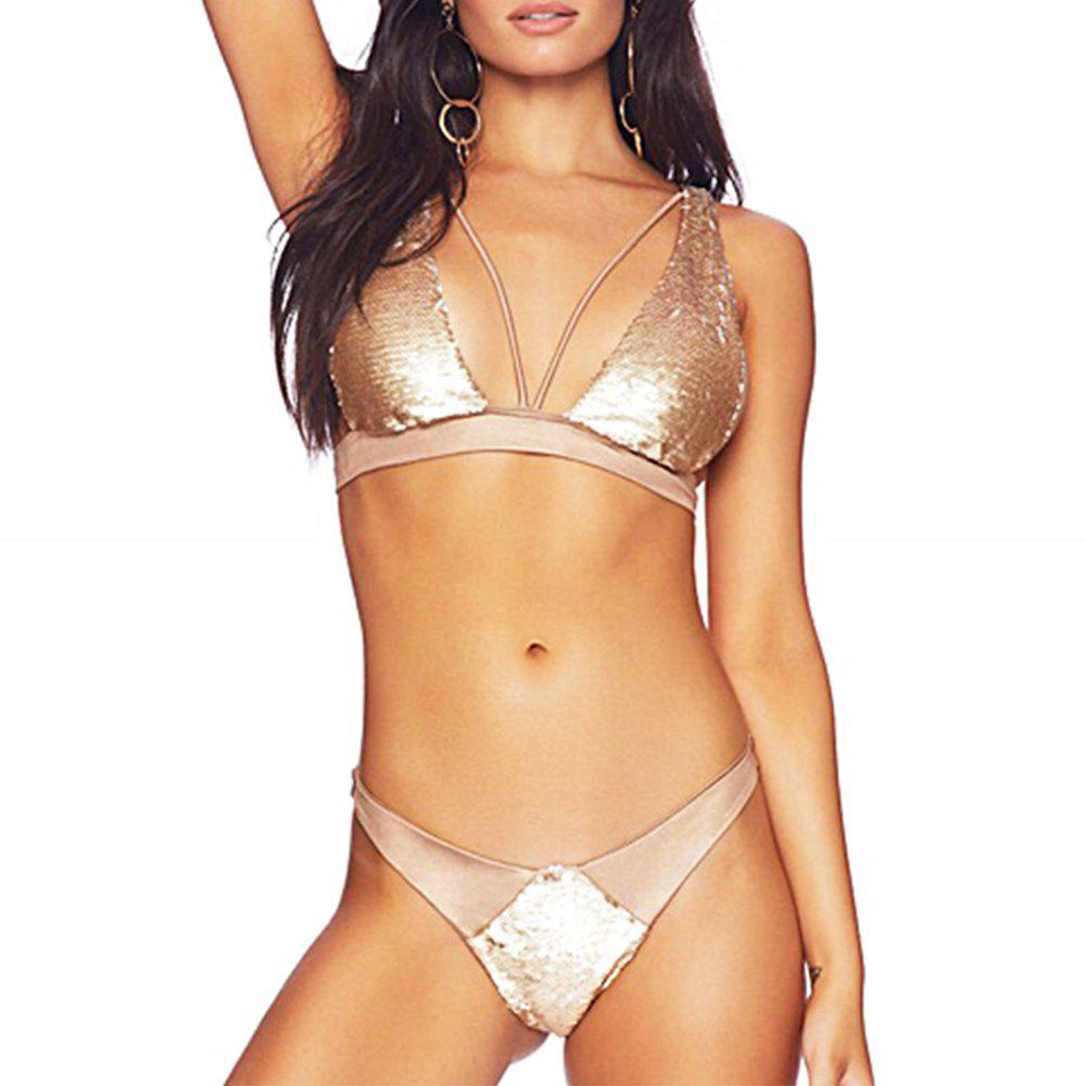Fashion Sexy Sequins for Women New Bikini Trade Hot Women'S Swimwear