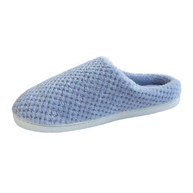 Fashion Home Story Non-Slip Thick Plush Warm Cotton Slippers