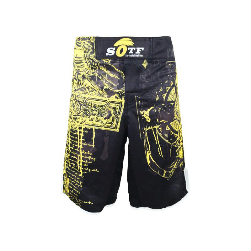 Trendy MMA Shorts UFC Comprehensive Combat Training Pants Boxing Thai Boxing Gymnasium