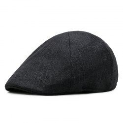 Herringbone beret + elastic fit for 56-58cm head circumference -