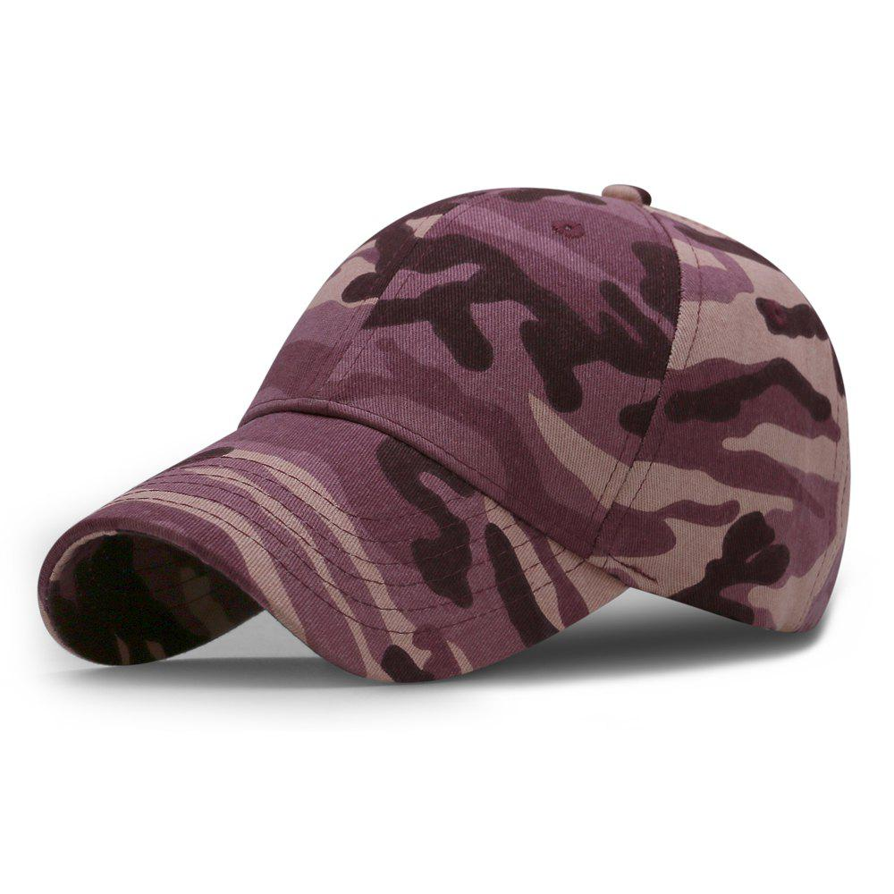 Outfits Camouflage Baseball Cap + Adjustable for 56-60cm head circumference