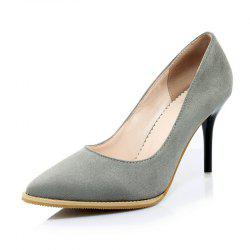 Pointed Shoes with High Heels and Simple Shoes -