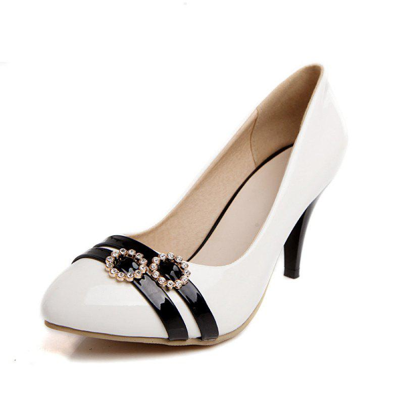 Outfit Pointed Stiletto High Heel Fashion Elegant Single Shoes
