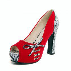 Sexy Fish Mouth with High Heel and European and American Ladies Shoes -