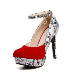 Fashionable Round Head Waterproof Table with Super High Heeled Sexy Shoes -