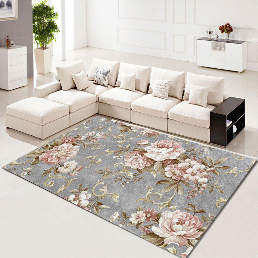 Trendy Living Room Carpet Fl Beautiful Washable Rug