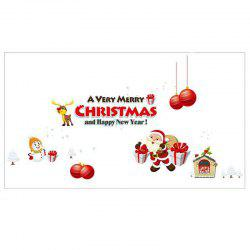 Christmas Decoration Wall Stick Window Stickers -